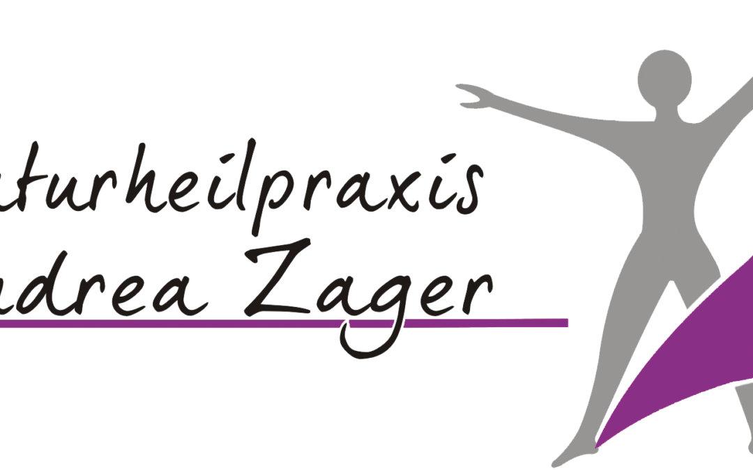 Naturheilpraxis Andrea Zager erhält neuen Flyer