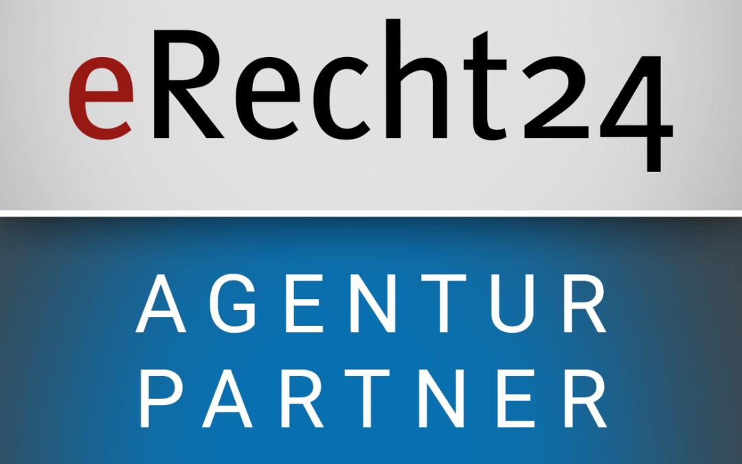 Mediendesign Teichmann ist Partner Agentur von eRecht24.de