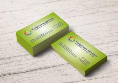 Heike Kossendey – Visitenkarte Heilpraxis Minden