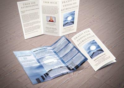 Kerstin Poschlod – Flyer Vedische Astrologie Hannover