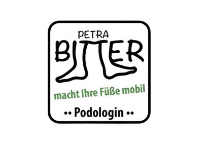 Petra Bitter – Logo Podologie