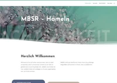 Melanie Köhler – Website MBSR Hameln
