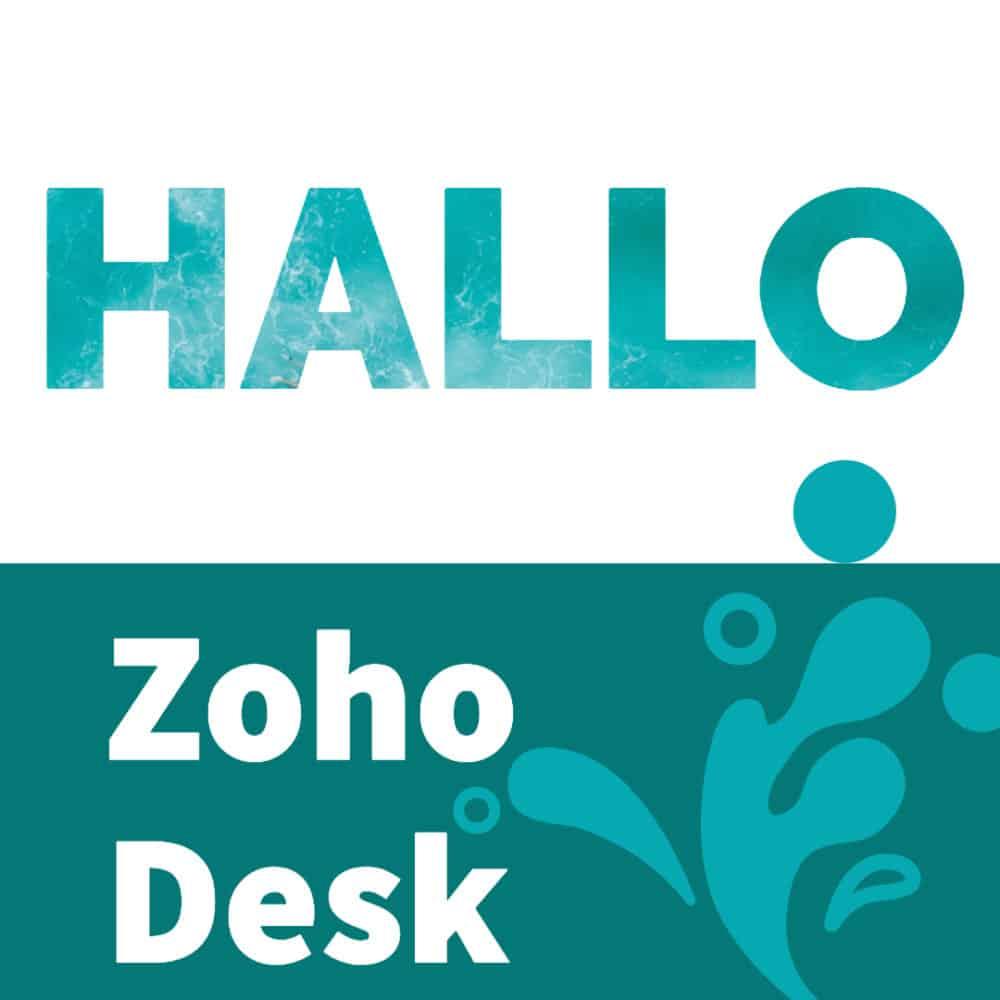 Hallo-Zoho-Desk
