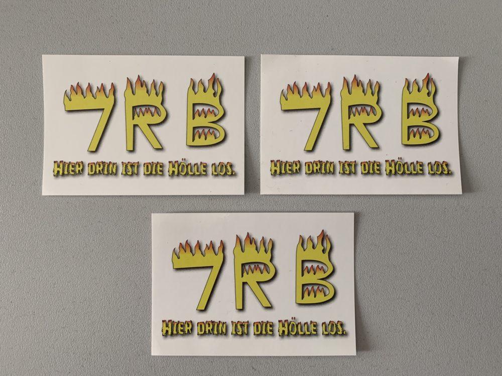 Logo-Aufkleber-7RB