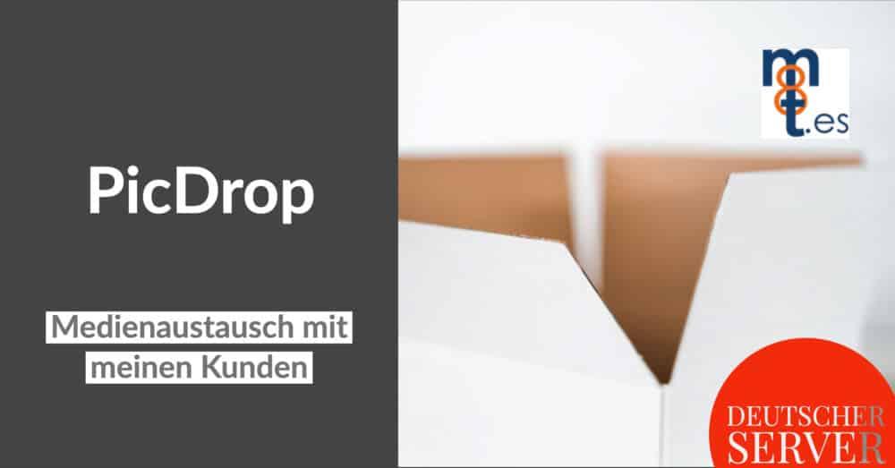 PicDrop-Medienaustausch