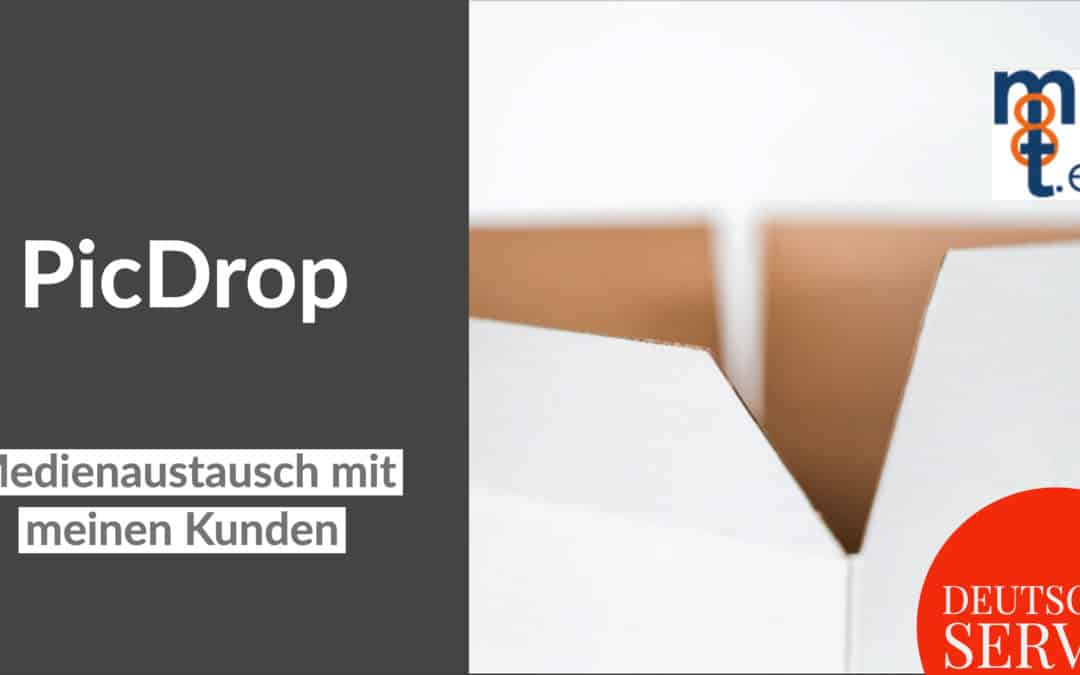 PicDrop – Medienaustausch mit meinen Kunden