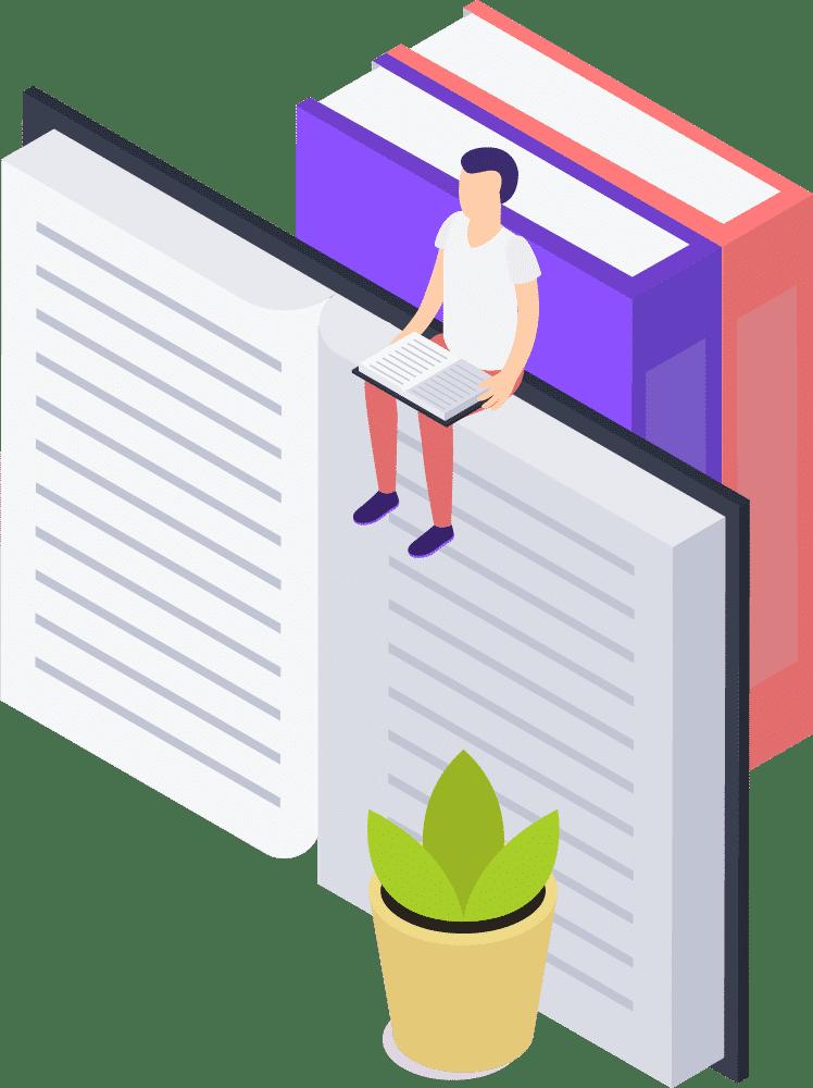 grafik-person-auf-buechern