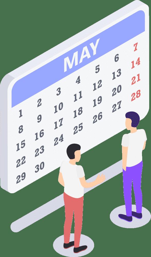 Kalender-Grafik-mit-Personen-davor