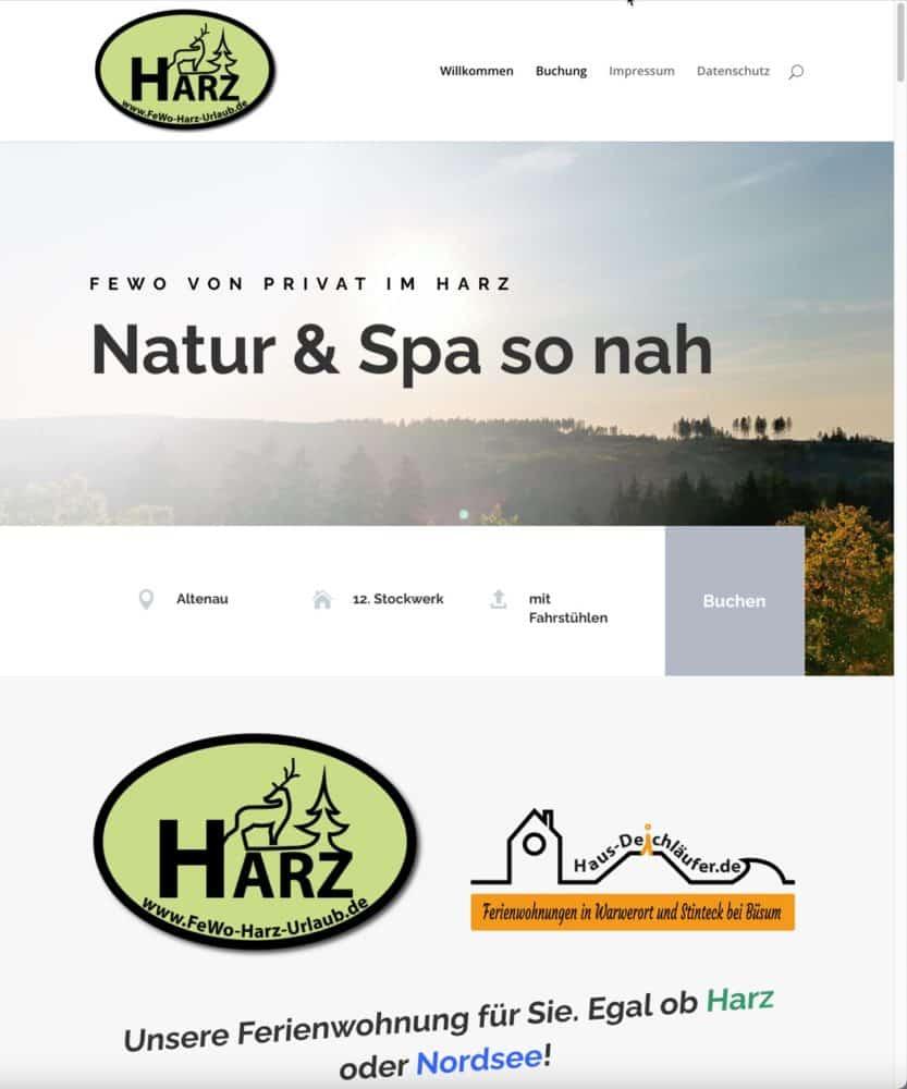 Portfolio-Website-FeWo_Harz_Urlaub_Streich