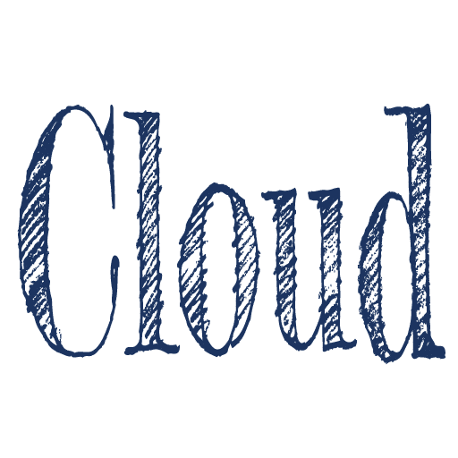 cloud icon weiss